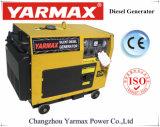 Fase Única Yarmax conjunto gerador diesel 6 kw silenciosa ISO9001 Grupo gerador diesel do gerador de marcação