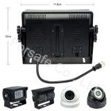 """Quad de 7"""" Monitor de Panel de sistema de la cámara de visión trasera del coche"""
