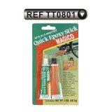Adhesivo acero de epoxy rápido  pegamento de epoxy de 4 a 5 minutos (TT0803)