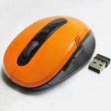 Marchio senza fili dell'OEM di sostegno del mouse del calcolatore ottico fotoelettrico 2.4G del Blu-Raggio