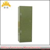 Fas-014 hete Verkoop 2 Kast van de Opslag van de Kleren van de School van de Rij de Leger Gebruikte