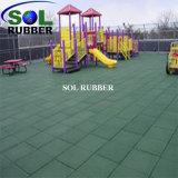 De RubberBevloering van de Speelplaats van RoHS