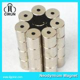 Magneten van de Cilinder Neodynium van de Deklaag van het nikkel N52 de Sterke
