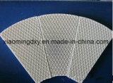 Placa cerâmica favo de infravermelhos