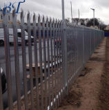 Гальванизированная покрынная порошком обеспеченность Palisade пикетчика стальная ограждая панели