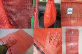 Трикотажные пластиковые PP переработанных фиолетовый сетчатых мешков для овощей и фруктов оптовая торговля