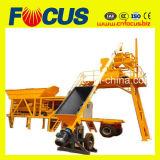 25m3/H -120m3/H die Concrete het Groeperen Installatie met de Chassis van de Vrachtwagen vervoeren