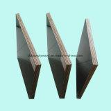 La película negra hizo frente a la madera contrachapada con base del álamo