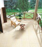 無作法な陶磁器の艶をかけられた床タイル(4716)