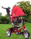 Nuovo triciclo registrabile popolare del bambino di sicurezza della sede