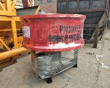 Fácil operar a máquina pequena da construção do misturador concreto da bandeja 350L