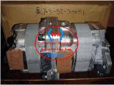 Komatsu самосвалов (HD325-3320-3, HD и HD-705-52-30040325-5) шестеренчатый насос, двойной Komatsu правого вращения насоса