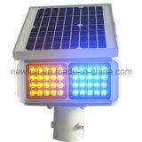 LED-blinkende Solarverkehrszeichen-Licht-Röhrenblitz-Verkehrs-Warnleuchte