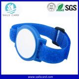 HF-NylonpassivesRFID Wristband für geduldiges Kennzeichen