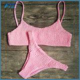 비키니 고정되는 단단한 패딩 수영복 여자 수영복 붕대 입욕