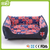 Casa do animal de estimação da sarja de Nimes, cama elegante do cão (HN-pH460)