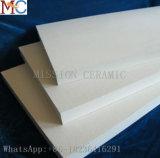 Placa Al2O3 cerâmica resistente da abrasão da pureza elevada
