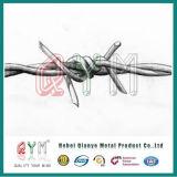 ロール/刑務所の有刺鉄線ごとのHot-DIP電流を通された有刺鉄線の価格