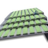 구부려진 단계 가장자리 알루미늄에게 층계 냄새맡기