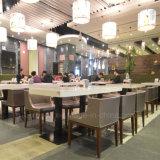현대 4명의 사람들 나무로 되는 대중음식점 착석 가구 (SP-CS105)