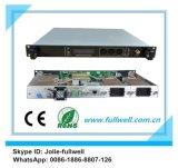 El CNR: 52dB, Sbs: 13 transmisor óptico externo Hfc 1550nm CATV de la fibra ajustable de ~19dBm (FWT-1550EH -2X9)