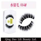 Глаз прокладки OEM 3D красотки Lili Silk хлещет человеческие волосы ложных ресниц норки Faux