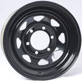 14X6 (6-139.7) черный стальные ободья колес прицепа