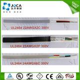 Collegare elettrico termoresistente ed ignifugo di durezza speciale del PVC UL2464