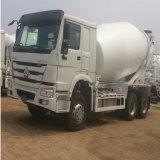 9m3 de Vrachtwagen van de Concrete Mixer van Sinotruk HOWO 6X4