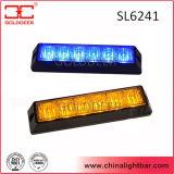 방수 6W 호박색 파랑 LED 석쇠 빛 (SL6241)