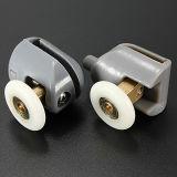 Alta qualità Nylon Plastic 304 Stainless Steel Brass Shower Door Rollers Runners Wheels Pulleys 25mm Upper e Lower Wheels