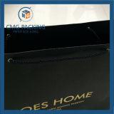 Bolsa de embalagem preta personalizada para vestuário (DM-GPBB-137)