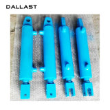 Cilindro hidráulico ativo dobro da cubeta da máquina escavadora/cilindro do crescimento/braço