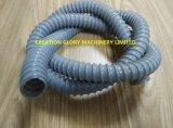 Heißes Verkaufs-konkurrierendes Spirale-gewölbtes Rohr-Plastikstrangpresßling-Zeile