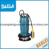 Bomba de água submergível elétrica de Qdx com interruptor de flutuador (1.25 polegadas)