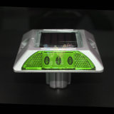 LED de aluminio impermeable de color verde carretera Solar Stud