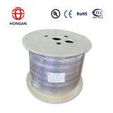 屋内G657Aケーブルで通信するファイバーの二重コアの光学ドロップ・ケーブル