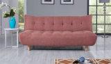 Neues Entwurfs-Ausgangsfunktionsgewebe-Sofa-Bett (HC013)