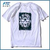 T-shirt feito sob encomenda da alta qualidade com seu logotipo
