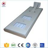 Garantía de 3 años de carretera exterior IP66 de la luz de polo integrado todos en una luz LED de energía solar