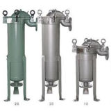 Water Treatment를 위한 높은 Quality Single Liquid Bag Filter Housing