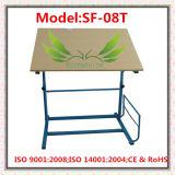Escola ajustável do ensino de madeira elaboração de tabela (SF-51)