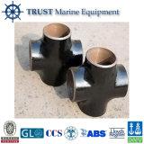 ASME/ANSIの炭素鋼の四方ティーの管付属品
