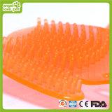 Escova de banho de cachorro de estimação para uso manual (HN-PG308)