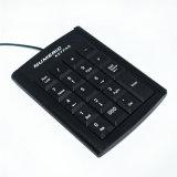 Tastiera collegata USB della tastiera numerica del computer portatile del metallo