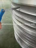 Panier d'écran d'acier inoxydable pour la pulpe faisant l'industrie