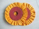 磨く布の車輪