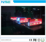 P2.5mm SMD impermeable Taxi Tejado LED