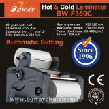 Boway 350mm 최신 입히는 롤필름 찬 주머니 필름 Laminatior 박판으로 만드는 박판 기계