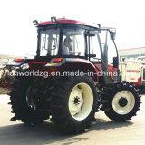 De Chinese Tractor Wd1004 van de Machines van het Landbouwbedrijf met de Instrumenten van de Tractor
